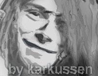 Dibujando a Kurt Kobain (Nirvana) by karkussen