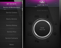 Infiniti . iPhone App