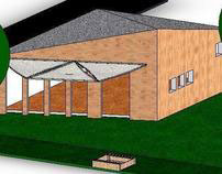 Recreational house - different modular building methods