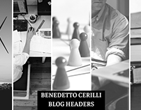 Benedetto Cerilli Blog Headers