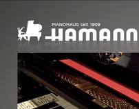 PIANOHAUS HAMANN - Corporate Website