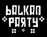 Balkan Party - Logo & t-shirt