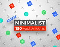 MINIMALIST Vector icons set