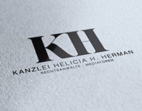 Kanzlei Herrmann - Corporate ID, Stationery, Web