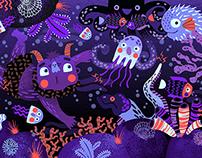 Underwater World / Picture Book Spread