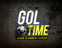 Gol Time iPhone videogame - Art pack