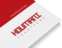 Houmani transport - Corporate identity