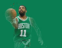 Kyrie Irving | digital illustration