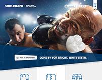 Website and Logo - smileback concept