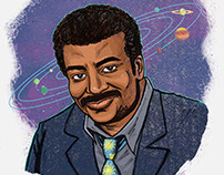 Science Portraits: Niel deGrasse Tyson