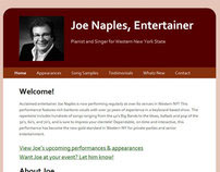 Joe Naples, Entertainer