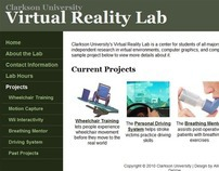 Clarkson University Virtual Reality Lab