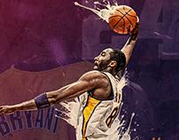 Kobe Bryant - Sports Poster Design