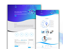 Animated Website Design for Leaping Logic