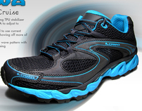 Lowa S-Curve and S-Crown Trail Running Shoe