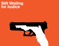 "Trayvon Martin poster - ""Still Waiting for Justice """