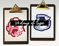 36 days of type 2018 - Lettering