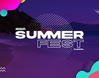 Absolut Summer Fest - Identidade Visual