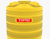 Tuffex Water tank for Masterplast India
