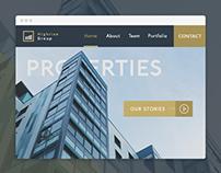 Highrise Group Properties - Website Concept
