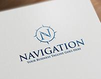 Navigation | Logo Template