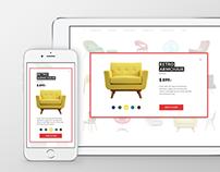 FOCA. Responsive website concept