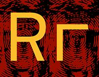 FR Rupp Mono typeface