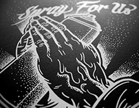 SPRAY FOR US - Serigraphie