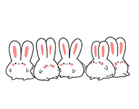 Recent bunny doodles
