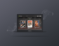Redesign of Movies Web Page
