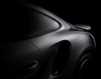 Porsche 911 turbo S fine art photos. (FDL technique)