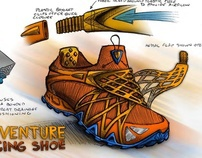 Adventure Race Shoe Concept