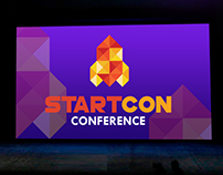 STARTCON CONFERENCE LOGO CONCEPT