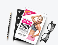 Amanda Adams Bikini Body Program | E-Book Design