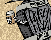 BrewLink Brewing - Crazy Dayz Can Design