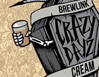 BrewLink Brewing - Crazy Dayz Can Design