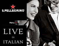 San Pellegrino.com - website design