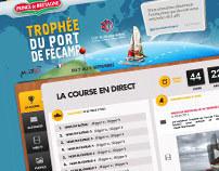 Prince de Bretagne Mer - Site Voile 2011