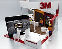 3M Stand Design for Mining Expo