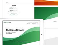 PracticeWEB Site Redesign