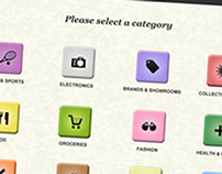 Touchscreen Information Kiosk for Local Markets