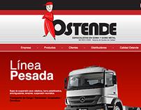 Ostende - Responsive  Website