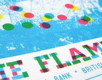 Flaming Lips screen print