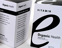 Organic Health | Vitamin Package Design