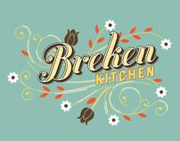 Breken Kitchen Branding