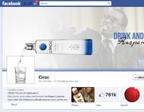 Ciroc Conceptual Facebook Timeline