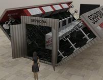 SEPHORA Pop-Up Shop Design