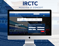 IRCTC - Redesign UI Concept