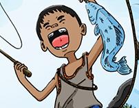 Si Lando : Children's Book Illustration