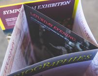 Art Symposium Brochure